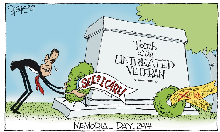 Signe Wilkinson Comic Strip for May 25, 2014