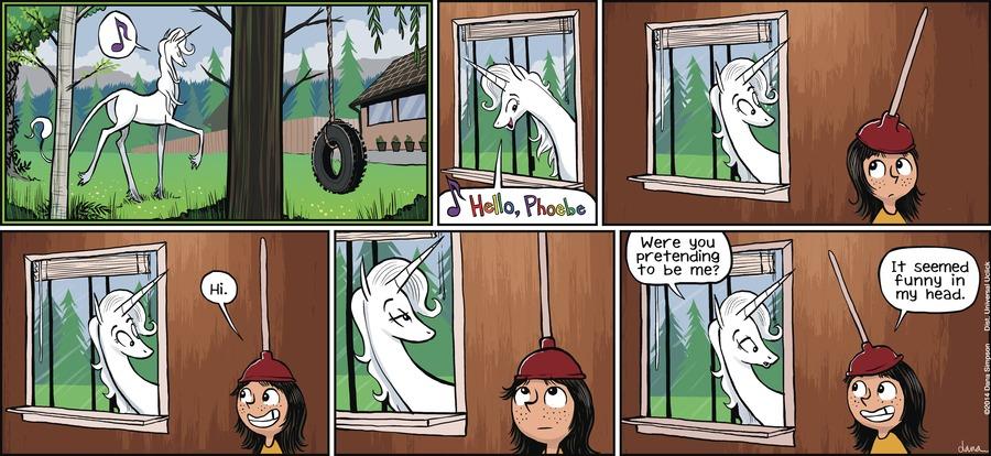 Phoebe and Her Unicorn for Jun 2, 2013 Comic Strip