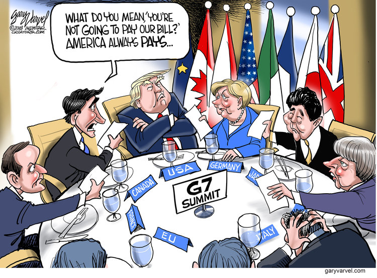 Gary Varvel Comic Strip for June 11, 2018