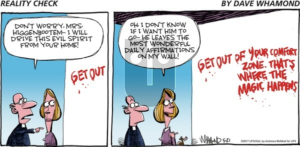 Reality Check on Sunday May 21, 2017 Comic Strip