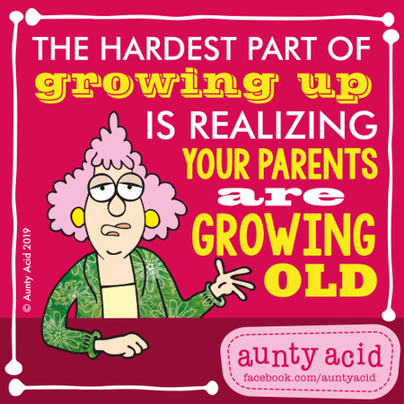 Aunty Acid by Ged Backland for May 05, 2019