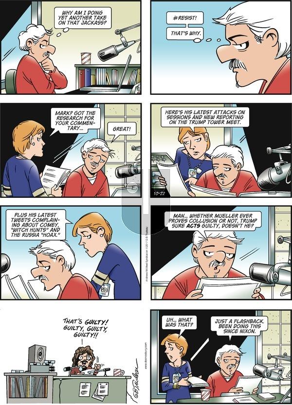 Doonesbury on Sunday October 22, 2017 Comic Strip
