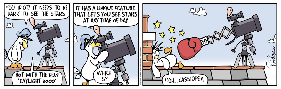 Ollie and Quentin Comic Strip for March 16, 2016