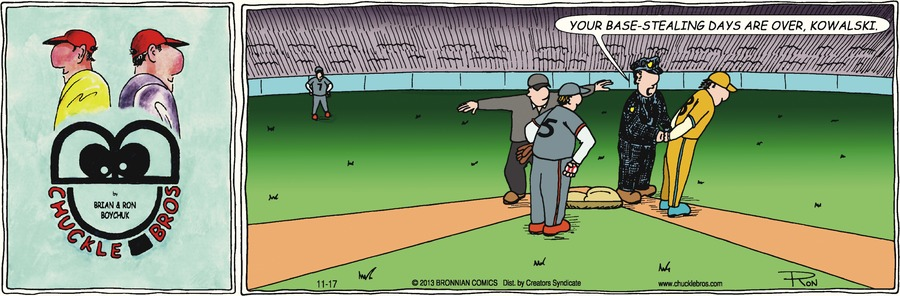 Chuckle Bros Comic Strip for November 17, 2013