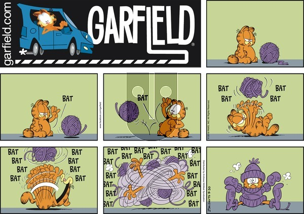 Garfield on Sunday September 30, 2018 Comic Strip