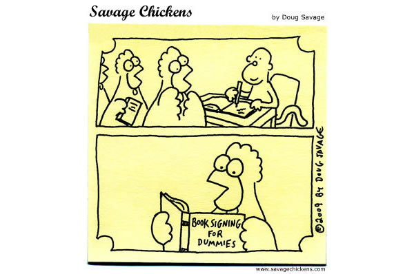 Savage Chickens Comic Strip for April 17, 2013