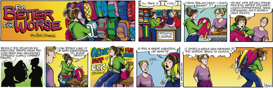 For Better or For Worse for Sep 2, 2007 Comic Strip