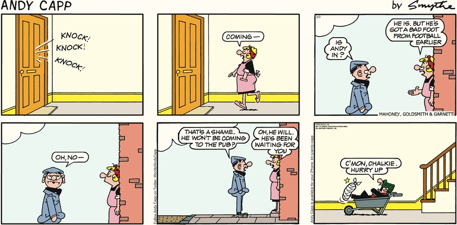 Andy Capp Comic Strip for March 03, 2013