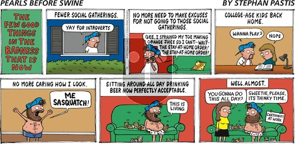 Pearls Before Swine on Sunday July 5, 2020 Comic Strip