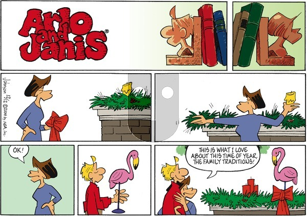 Arlo and Janis on Sunday December 12, 2004 Comic Strip