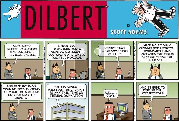 Dilbert - Sunday February 1, 2009 Comic Strip
