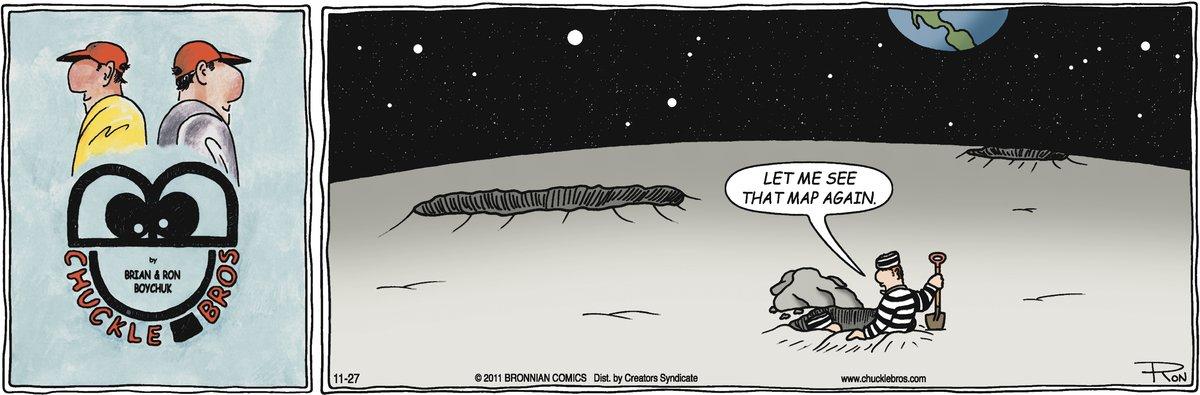 Chuckle Bros Comic Strip for November 27, 2011