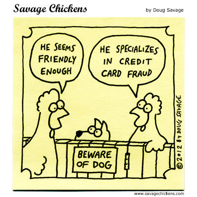 Savage Chickens Comic Strip for February 16, 2016