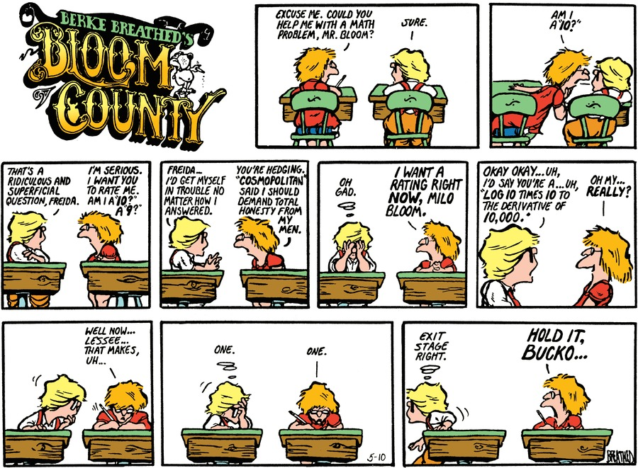 Bloom County Comic Strip for October 28, 2016