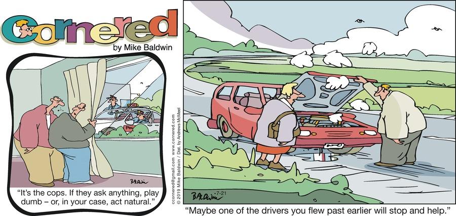 Cornered Comic Strip for July 21, 2019