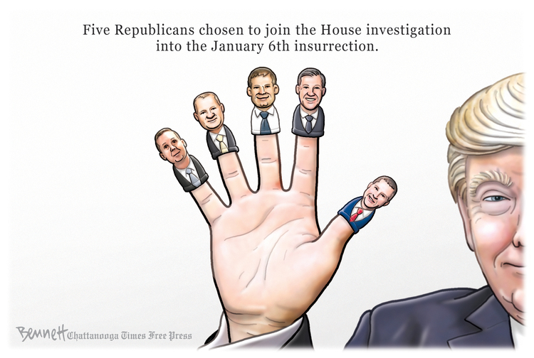 Clay Bennett Comic Strip for July 21, 2021
