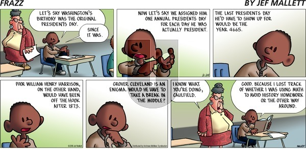 Frazz on Sunday February 24, 2019 Comic Strip