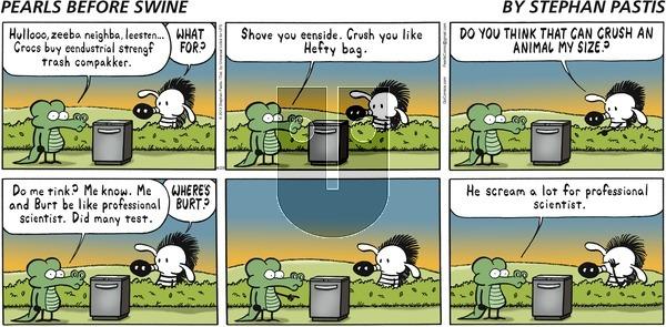 Pearls Before Swine on Sunday April 29, 2012 Comic Strip