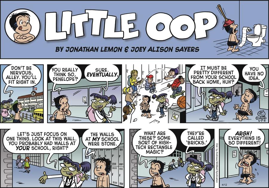 Alley Oop Comic Strip for April 12, 2020