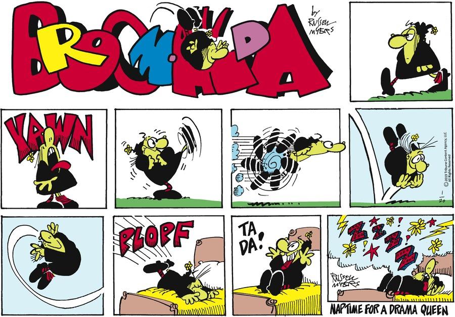 Broom Hilda Comic Strip for January 20, 2019
