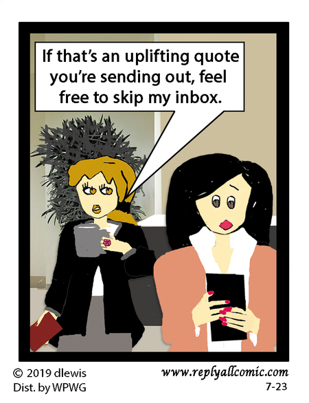 Reply All Lite Comic Strip for July 23, 2019