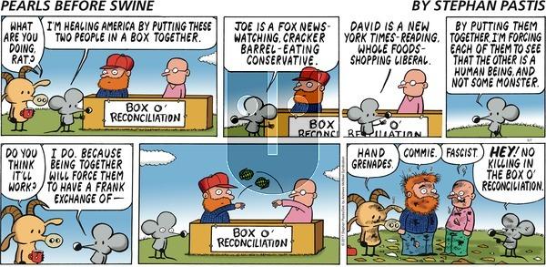 Pearls Before Swine on Sunday May 7, 2017 Comic Strip