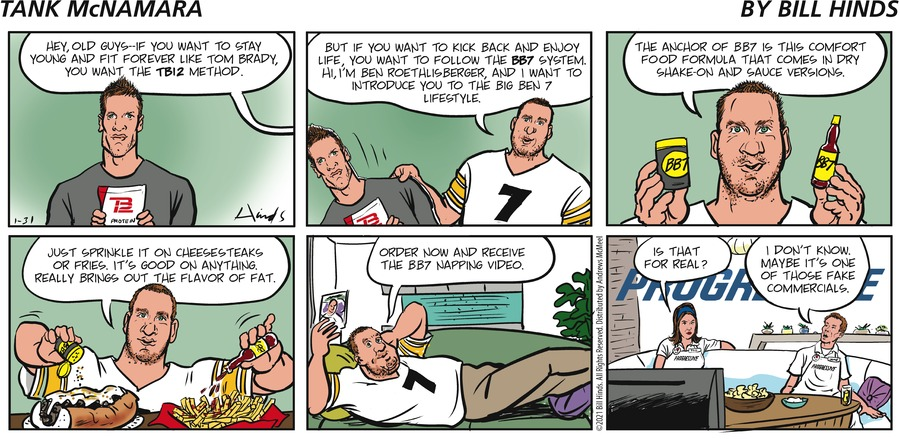 Tank McNamara Comic Strip for January 31, 2021
