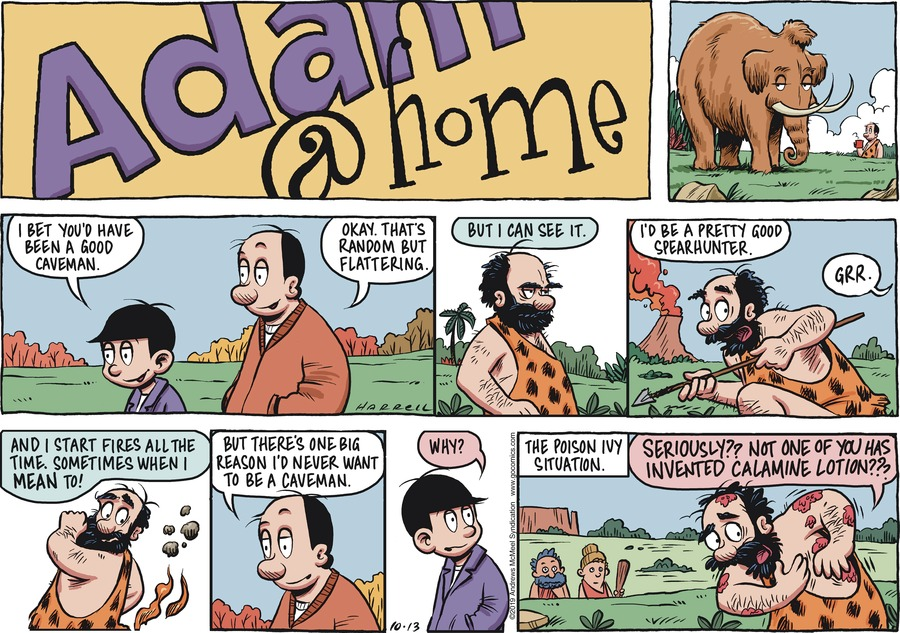 Adam@Home Comic Strip for October 13, 2019