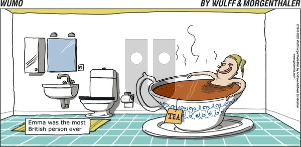 WuMo - Sunday February 16, 2020 Comic Strip