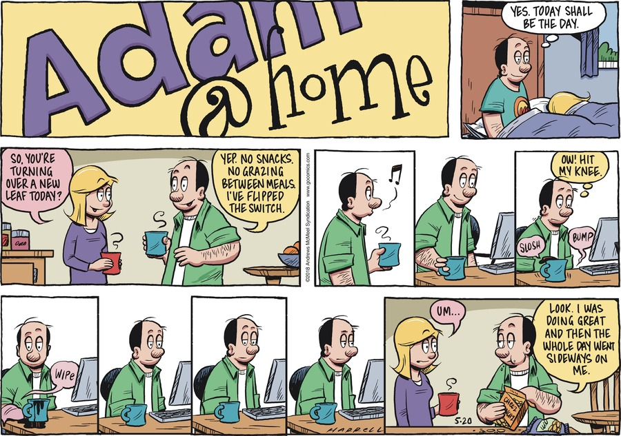 Adam@Home Comic Strip for May 20, 2018