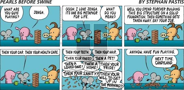 Pearls Before Swine on Sunday November 3, 2019 Comic Strip
