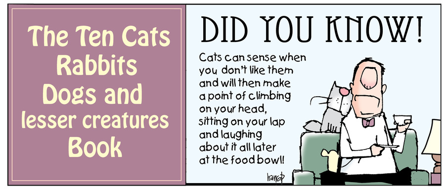 Ten Cats by Graham Harrop for May 23, 2019