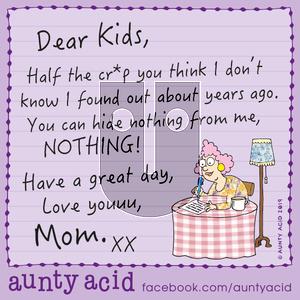 Aunty Acid on Monday December 30, 2019 Comic Strip