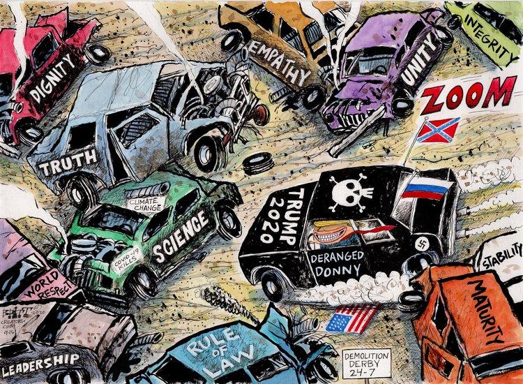 Chris Britt Comic Strip for September 17, 2020