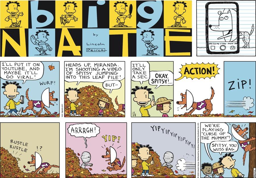 Big Nate Comic Strip for November 29, 2020