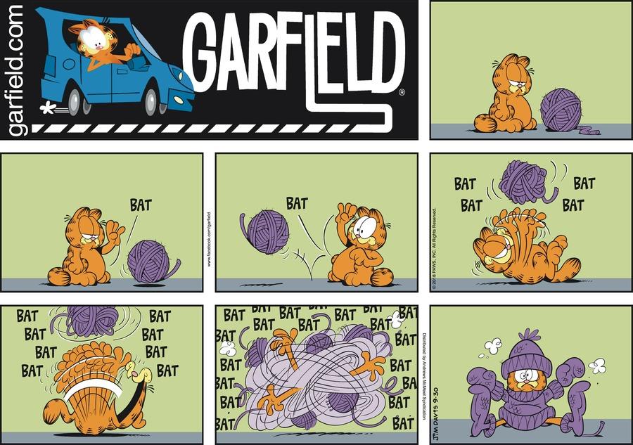 Garfield Comic Strip for September 30, 2018