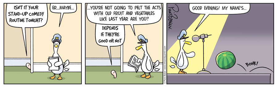 Ollie and Quentin Comic Strip for October 06, 2012