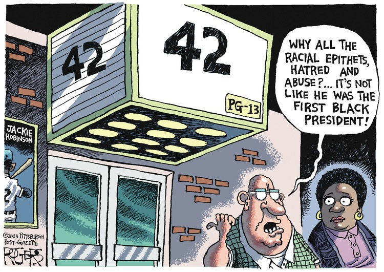 Rob Rogers Comic Strip for April 14, 2013