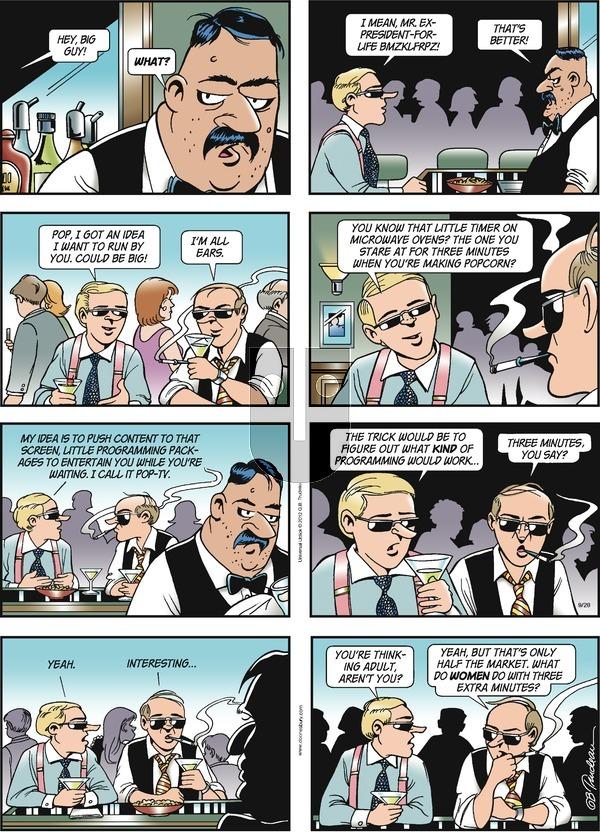 Doonesbury on Sunday September 28, 2014 Comic Strip
