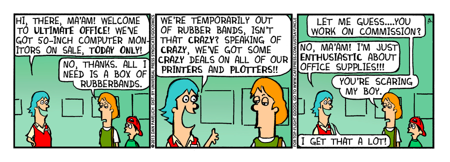 Just Say Uncle for Sep 30, 2013 Comic Strip