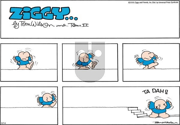 Ziggy on Sunday June 14, 2009 Comic Strip