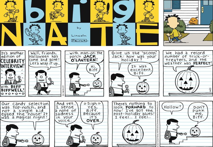 Big Nate Comic Strip for November 05, 2017