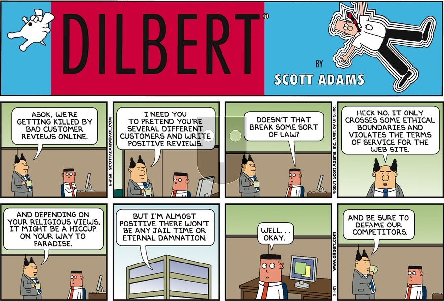 Purchase Comic Strip for 2009-02-01