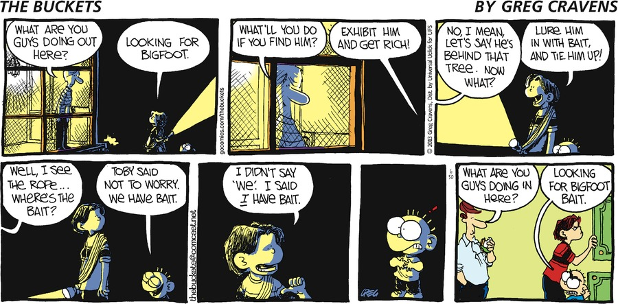 The Buckets for Jun 30, 2013 Comic Strip