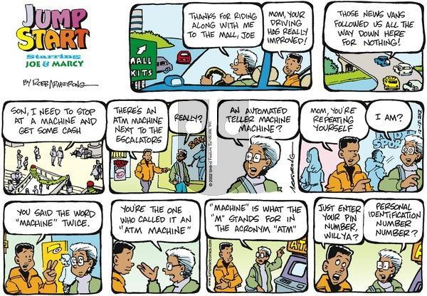 JumpStart - Sunday December 15, 2002 Comic Strip