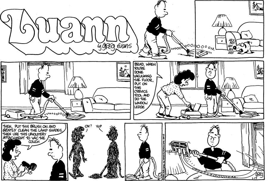 Luann Againn Comic Strip for January 17, 2021