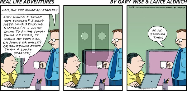 Real Life Adventures on Sunday January 22, 2017 Comic Strip