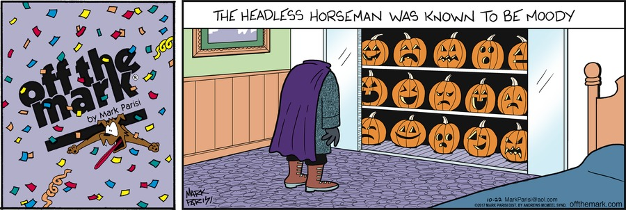 Off the Mark Comic Strip for October 22, 2017