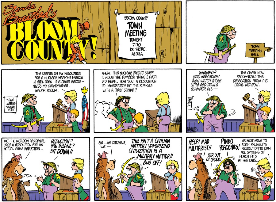 Bloom County for Jan 13, 2018 Comic Strip
