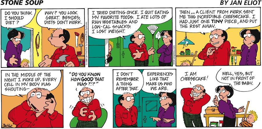 Stone Soup for Mar 7, 1999 Comic Strip